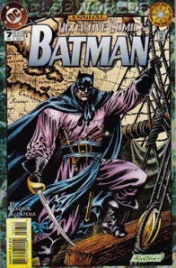 Batman as a pirate