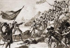 Drawing of pirates